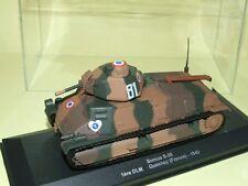 SOMUA S-35 1èr DLM FRANCE 1940 ATLAS MILITAIRE 1:43