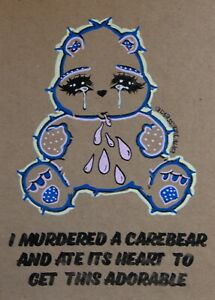 I Murdered a Teddy Bear to get this Adorable - Brighton Street Art MsDre A5