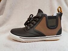 Tretorn Gunner Canvas Chocolate Brown Rubber Lace Shoes Size Women's 6 M New
