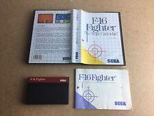 F-16 Fighter - SEGA Master System (SMS) TESTED UK PAL