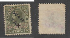 Used Canada Overprinted War Tax Stamp #MR2C (Lot #16906)