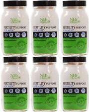 Práctica de salud natural de la fertilidad Soporte para hombre - 90 cápsulas (paquete de 6)