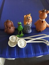 4 Muppet puppets Fisher Price