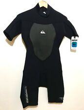 NEW Quiksilver Mens Shorty Spring Wetsuit Size Small S Syncro 2/2 NWT - MSRP $95