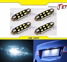 LED Light Canbus Error Free 578 White 6000K Four Bulbs Dome Map Step Festoon