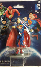 Superman Man of Steel Figurine Cake Topper DC Comics Super Hero ~ Fast Ship!