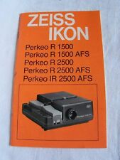 ZEISS Straight-tray Slide Projectors