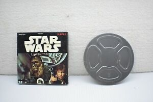 Vintage Star Wars black & white Super 8 movie-1977
