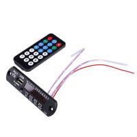 1Pc TF Radio MP3 Decoder Board 12V Audio Module for Car Remote Music Speaker HU