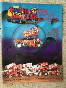 1998 All Star Sprint Car Yearbook Program