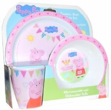 Children's Peppa Pig Dining Set