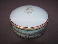Tiffany & Co Wildlife Porcelain Powder Trinket Jewelry Box Four Seasons Lodging