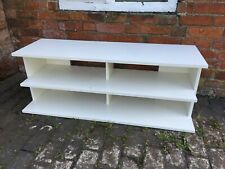 Lovely White Ikea Low Level TV / Entertainment Stand
