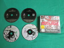 METAL GEAR SOLID WITH SILENT HILL DEMO - PS1 PLAYSTATION 1 GAME