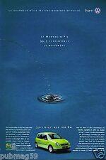 Publicité Advertising 1999 VW Volkswagen Lupo