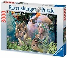 3000 teile Puzzle Lady Of The Forest Ravensbuger
