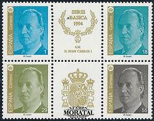 1994 - Espagne Yv# 2880/2897  Feuille  Ed# 3305A/3308A Bloque  ** Neuf sans Char