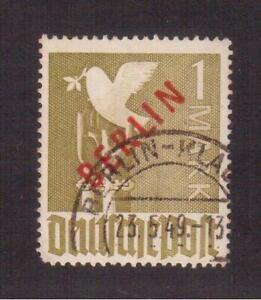 GERMANY 1949 BERLIN USED #9N33, OVERPRINTED BERLIN !!  K36