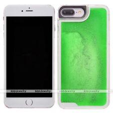 Glow in Dark Dynamic Liquid Glitter Quicksand Case Cover Skin for iPhone 7 Plus