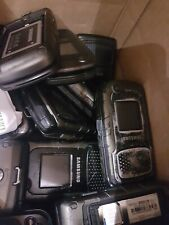 Lot 100 Broken Cell Mobile Phones scrap parts imei clean esn wholesale bulk