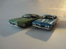 Johnny Lightning 1968 Chevy Chevelle SS x2 - Loose New Mint 1:64