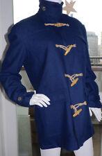 NEU Duffle Coat MANTEL PEPE JEANS LONDON XL 42 BLAU 100% WOLLE winter jacke mod