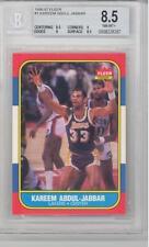 1986 Fleer Basketball Kareem Abdul-Jabbar (HOF) (#01) BGS8.5 BGS