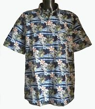 Regular Collar Floral Hawaiian Casual Shirts & Tops for Men