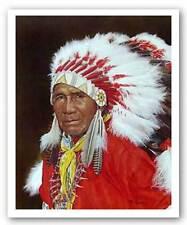 Chief Daniel Boone Hornbuckle Howard Burger Art Print 20x16