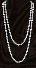 Long Rope Pearl Necklace 5-6mm 120cm