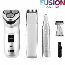 5 IN 1 SHAVER & HAIR TRIMMER SET NOSE EAR BEARD SHAVE TRIM RAZOR CLIPPER GROOMER