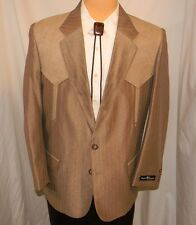 Buffalo Country Western Wear 2 Button Suit Western Yolk and Pockets ~ 40