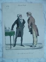 Lito S.XIX Langlume - Que Want You Mi Buen Amigo Por Pigal Edme Jean Circa 1823