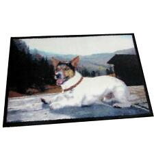 "Lavable Tapis Chien "" Jack Russel Terrier "" 60x85 Lavable Mill Dog Edition"