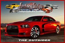 DODGE CHARGER OUTSIDER SIDE STRIPE 2011-2015 DECAL FACTORY STRIPE GRAPHIC 3M