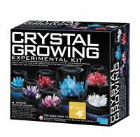 NEW 4M Crystal Growing Experiment Science Kit for Kids Conduct 7 Crystals