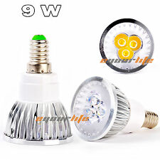 Ultra Bright Cree/ Epistar MR16 GU10 9W LED Spot Light Lamp Warm Cool White Bulb