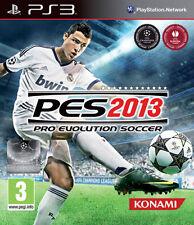 Pro EVOLUTION SOCCER PES 2013 ps3 PLAYSTATION 3 IT importazione KONAMI