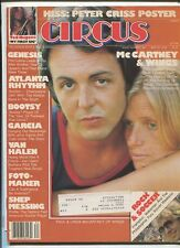 Circus May 25,1978 #182 Paul & Linda McCartney Genesis Van Halen   MBX94