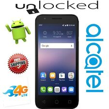 "UNLOCKED Alcatel Ideal OT-4060A At&t Black 4G LTE 8GB 4.5"" Android 5.1 New"