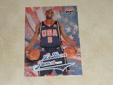 2004 Fleer USA Basketball #USAB LeBron James