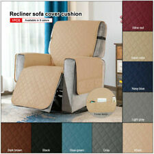 Reversible Oversized Recliner Cover Stylish Slipcover Pet Chair Covers Protector