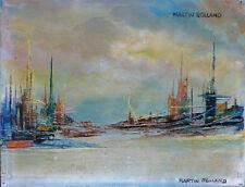 MARTIN-ROLLAND (1926-2015) HsT Années 60 Jeune Peinture Nle Ecole de Paris