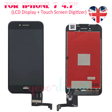 For Apple iPhone 7 LCD Touch Screen Display Digitizer Assembly Replacement Black