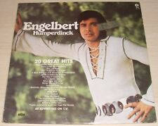 ENGELBERT HUMPERDINCK 20 GREAT HITS ALBUM 1977 PARROT RECORDS NC-478 K-TEL