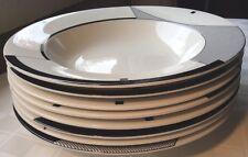 "Christopher Stuart Optima Angles (8) 9-1/2"" Soup Bowls HK200 More Pcs Available"
