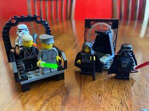 LEGO 7200 & 7201 Final Duel Luke Darth Vader Emperor Palpatine