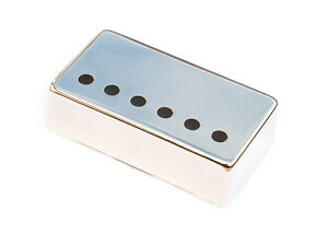 Nickel Silver Humbucker Guitar Pickup Cover • Nickel • 49.2 mm