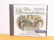 CD - DAS DREIMÄDERLHAUS - SCHUBERT - GROSSER QUERSCHNITT - WIENER, MEYER WELFING