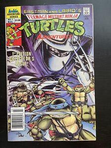 Teenage Mutant Ninja Turtles Adventures #1 1988 Newsstand Variant 7.5